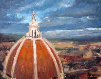 Painting - The Duomo by Erin Rickelton