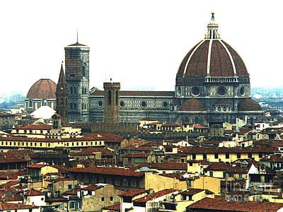 Photograph - The Duomo Florence Italy by Merton Allen