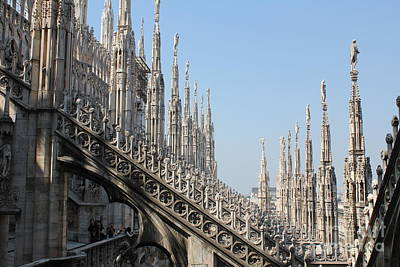 Photograph - The Duomo Roof by David Grant