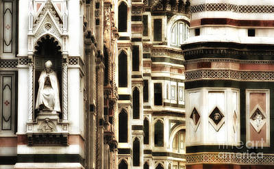 The Duomo Up Close Art Print by Mike Nellums