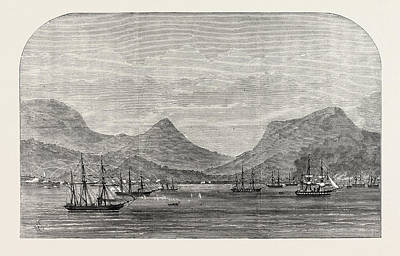 Oceania Drawing - The Dutch War In Sumatra Bombardment Of Acheen By The Dutch by School Of Indonesia