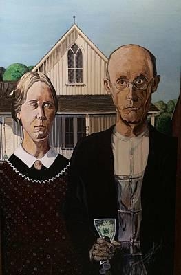 The Dying Dollar Art Print