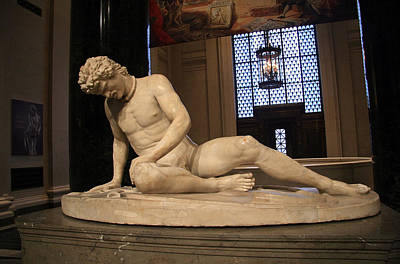 Photograph - The Dying Gaul by Cora Wandel