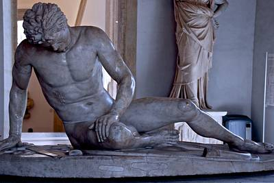 Photograph - The Dying Gaul by Eric Tressler