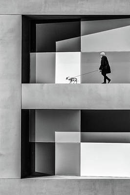 Lady Wall Art - Photograph - The E Walk by Luc Vangindertael (lagrange)