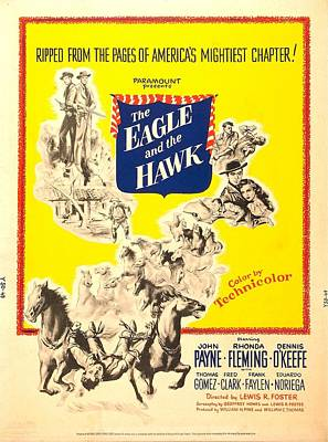 1950 Movies Photograph - The Eagle And The Hawk, Us Poster, 1950 by Everett