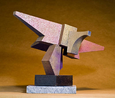 Sculpture - The Eagle Has Landed by Richard Arfsten