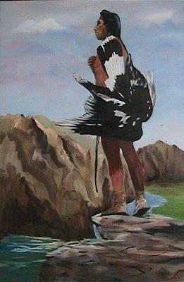 The Eagle Hunter Art Print