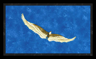 Digital Art - The Eagle Soars... by Tim Fillingim