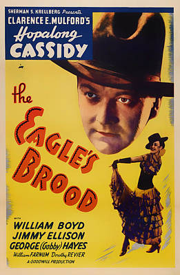 Lithograph Mixed Media - The Eagle's Brood Movie Poster 1935 by Mountain Dreams