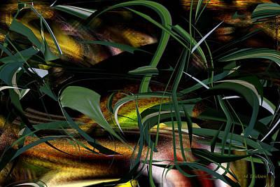 Digital Art - The Earth We Walk On by Roy Erickson