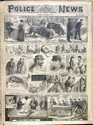 The East End Murders Art Print by British Library