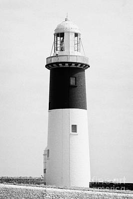 The East Light Lighthouse Altacarry Altacorry Head Rathlin Island Northern Ireland Art Print by Joe Fox