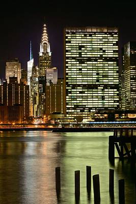The East River Print by JC Findley