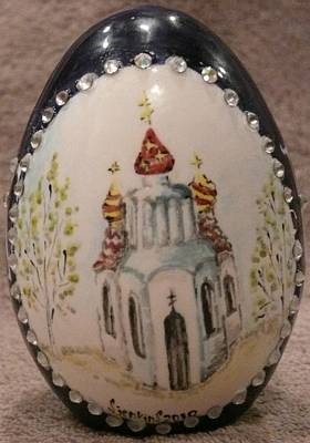 Ceramic Art - The Eastern Church by Svetlana  Jenkins
