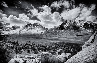 Photograph - The Eastern Sierra by Cat Connor