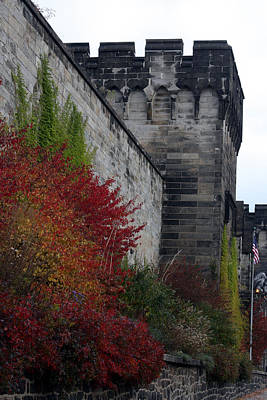 Photograph - The Eastern State Penitentiary by Vadim Levin