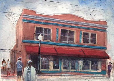 Painting - The Ebonia Gallery by Gregory DeGroat