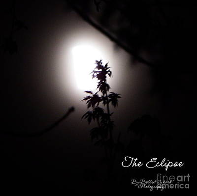 Photograph - The Eclipse by Bobbee Rickard