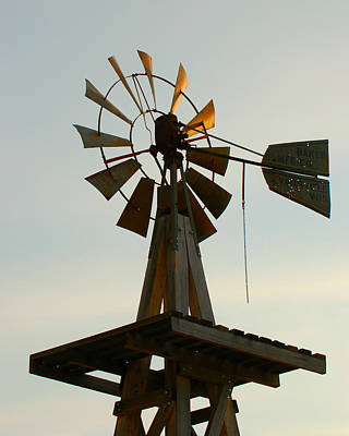 Photograph - The Eddy House Windmill In Carlsbad by Dakota Light Photography By Dakota