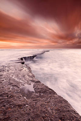 The Edge Of Earth Art Print by Jorge Maia