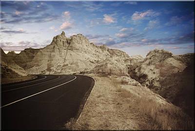 The Edge Of The Badlands Art Print by Jens Larsen