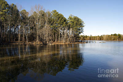 Lake Murray Photograph - The Edge Of Wilderness by Skip Willits