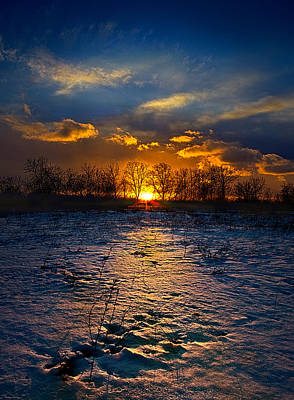 The Edge Print by Phil Koch