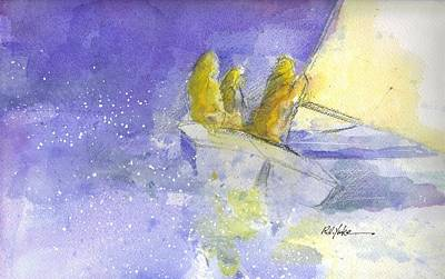 Scot Painting - The Edge by Robert Yonke