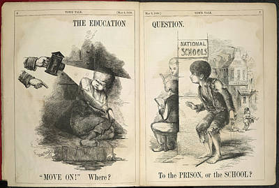 The Education Question Art Print by British Library
