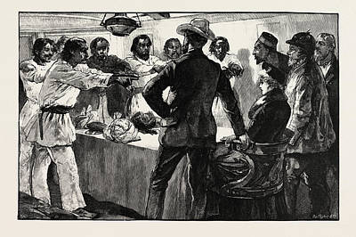 H Drew Drawing - The Effect Of His Speech Was To Cause The Whole by Overend, William Heysham (1851-1898), British