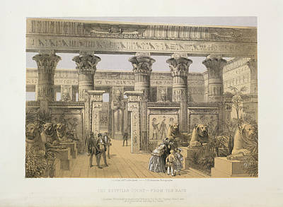 Hyde Park Photograph - The Egyptian Court by British Library