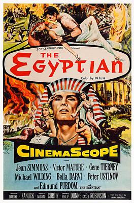 The Egyptian, Us Poster Art, 1954, Tm Art Print