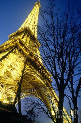 Photograph - The Eiffel Tower by B. De Changy/Explorer