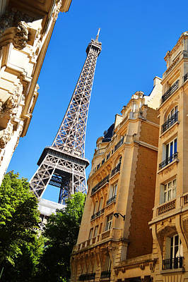 The Eiffel Tower In Paris France Original