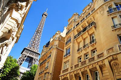 The Eiffel Tower In Paris Original