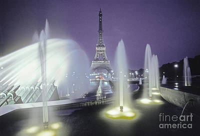 Photograph - The Eiffel Tower by Ron Sanford