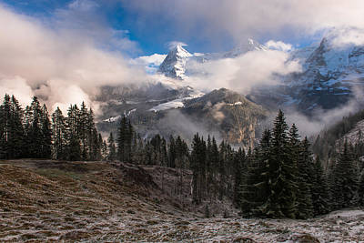 Wall Art - Photograph - The Eiger by Scott Hafer