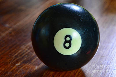 The Eight Ball Art Print