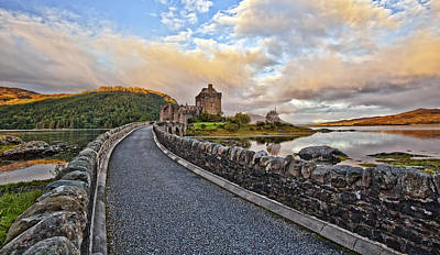 Featured Photograph - The Eilean Donan Castle by Marcia Colelli