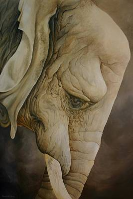 Painting - The Elder by Charles Owens