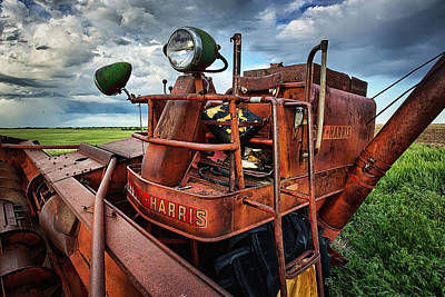 Machinery Photograph - The Elder by Thomas Zimmerman