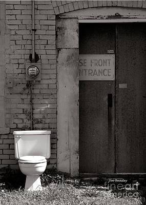 The Electric Outhouse Art Print by   Joe Beasley