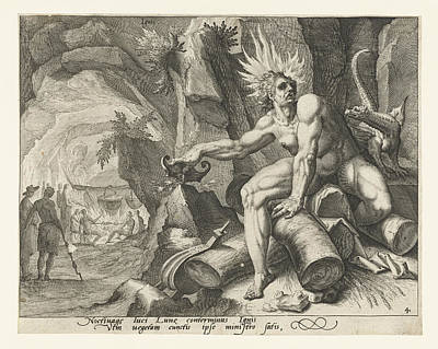 The Element Of Fire, Attributed To Jacob De Gheyn II Art Print by Attributed To Jacob De Gheyn (ii)