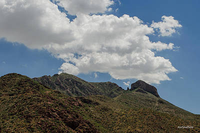 Photograph - The Elephant Above El Paso by Allen Sheffield