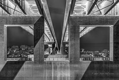 Photograph - The Elevated Freeway by Jim Thompson