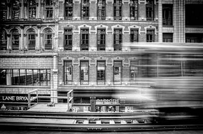 Black And White Photograph - The Elevated by Scott Norris