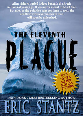 Pocketbook Cover Design Photograph - The Eleventh Plague Bookcover by Mike Nellums