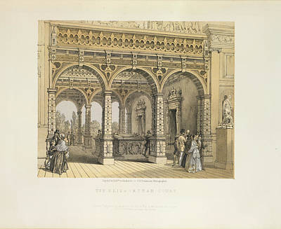 The Elizabethan Court Art Print