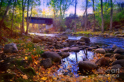 Photograph - The Ellis Creek Bridge by Tara Turner